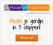 Gordijnen bestellen A House of Happiness
